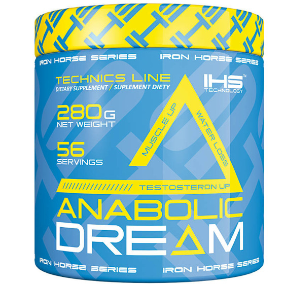 Iron horse anabolic dream 280g for Testosteron w tabletkach