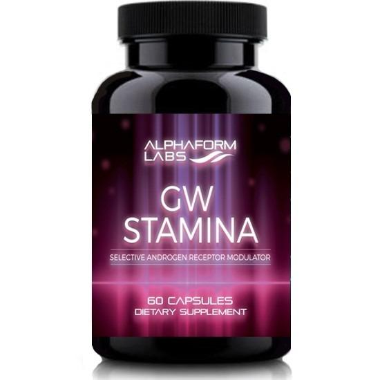 Alphaform labs gw stamina 60 caps for Testosteron w tabletkach