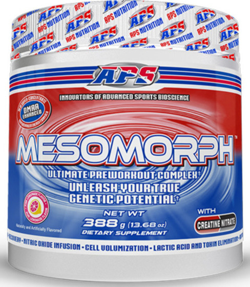 Aps mesomorph booster przedtreningowy z geranium for Testosteron w tabletkach