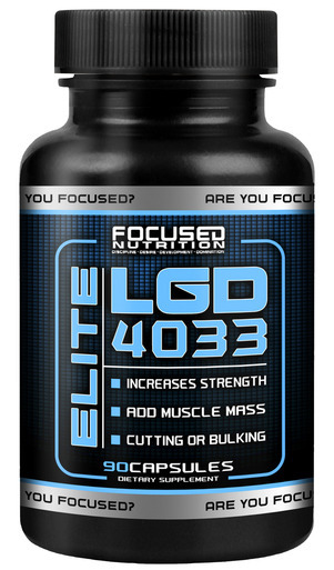 Focused nutrition elite lgd 4033 90 caps for Testosteron w tabletkach